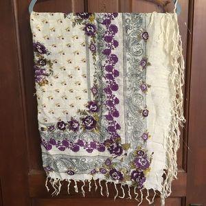 Accessories - 2 scarf shawl wrap lot